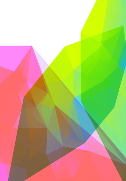 Neon Landscape 03. Art Print
