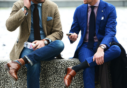 A.N.D Studio Likes | Tumblr #leather #fashion #suits #tweed #style