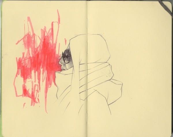 Sketchbook Dairies #illustration #color #drawing #sketch