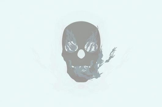 Opa #illustration #organic #sopa #skull