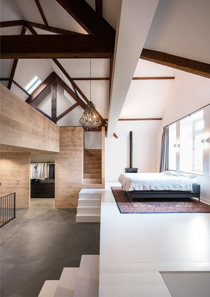 Old Monastery Turned into a High-Quality Family Home