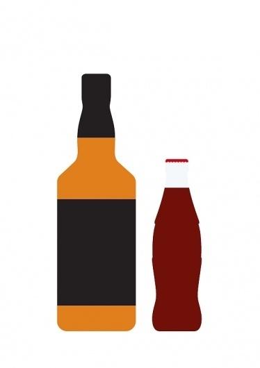 árbol | Blog #pair #alcohol #minimal #poster