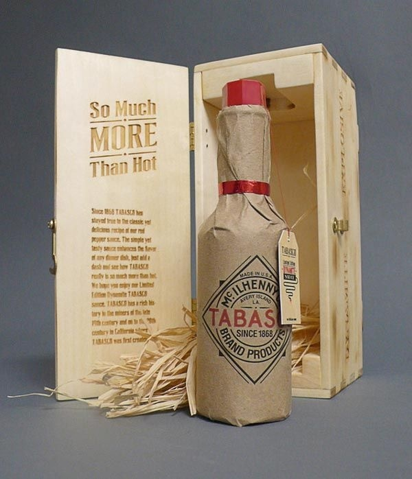 Tabasco – Limited Edition Packaging Design by Cody Petts #packaging #tabasco #box