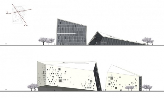 Architecture Photography: MoMA CHENGDU / Studio Ramoprimo - elevation 01 (199680) - ArchDaily #architecture