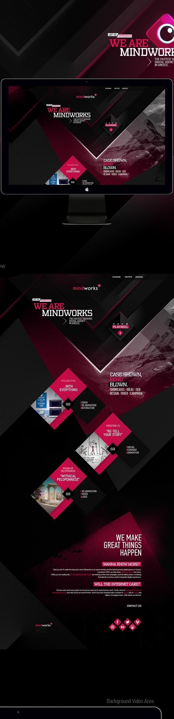 Mindworks New Website #web
