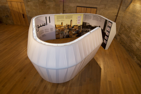 La Suda #estudi #history #design #graphic #torras #exhibition #conrad #environmental #lleida #lamps #castle
