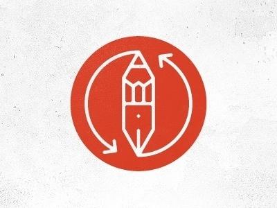 Dribbble - Pen2 by Martin #icon #logo #mark #pen