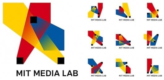 MIT Media Lab's Brilliant New Logo Has 40,000 Permutations [Video] | Co.Design #interactive #design #graphic #logo #innovative