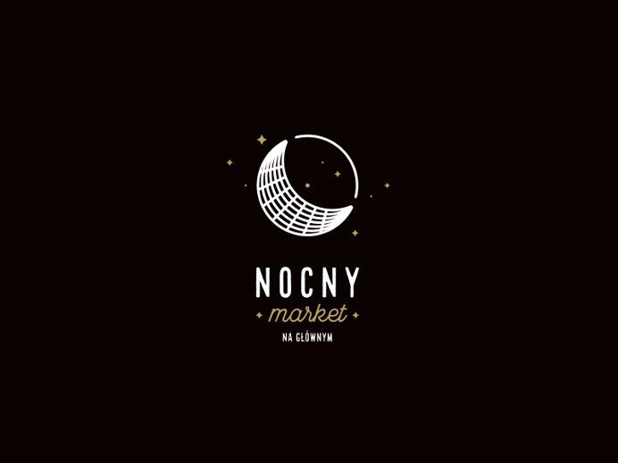 NOCNY, Beetroot Graphics #logo #mark #space #moon #night