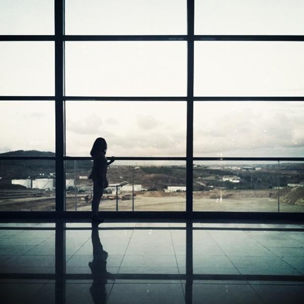 Girl in terminal #girl #terminal