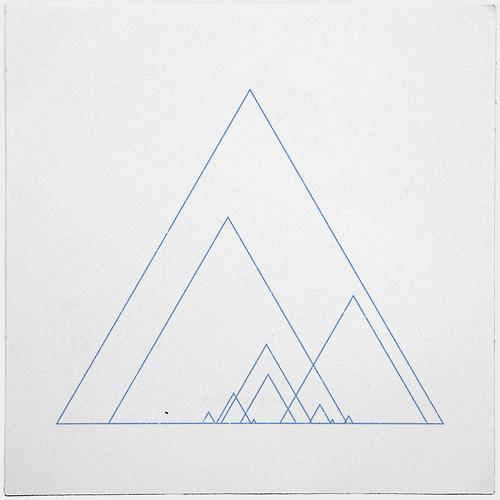 #390 Grand ridge – A new minimal geometric composition each day