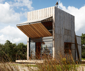 The Whangapoua Sled House by CCC Architects #architecture