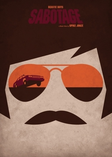 Federico Mancosu — Designer and illustrator from Rome, Italy — Designwar.net — sweets for my eyes #glasses #beastie #illustration #poster #boys #shades