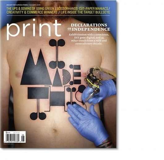 Non-Format - Print #non #i #this #format #cover #made #type #editorial #magazine