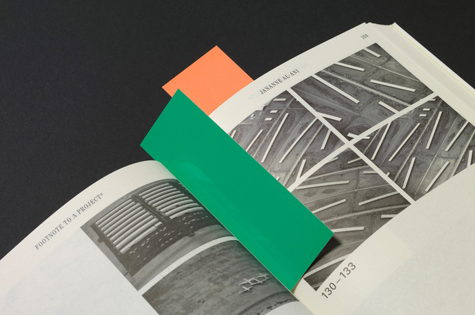 Footnotes to a Project* - OK-RM #print #book #publication #bookmark