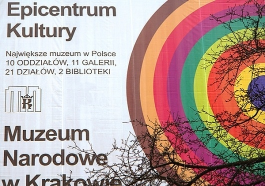 NATIONAL MUSEUM IN KRAKOW on Branding Served #design #graphic #color