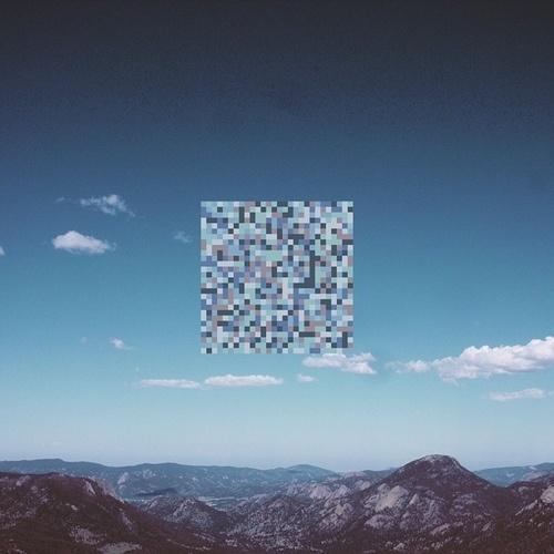 Tumblr #blue #mountains #pixel