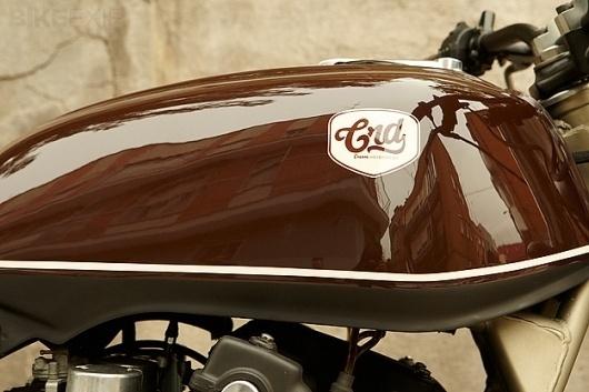 1980 Honda CB750 #racer #motorcycle #caf