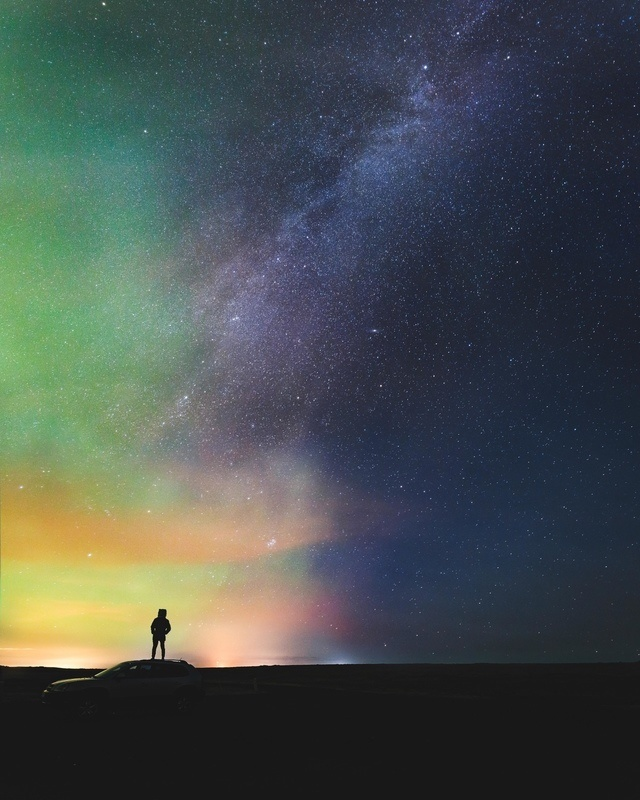photography sky star color Benjamin Hardman