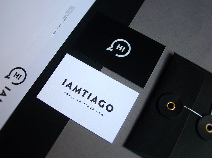 Iamtiago Identity materials on Behance