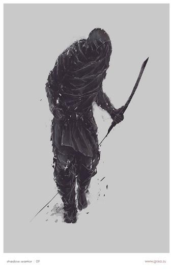 shadowwarrior.jpg 510×795 pixels #gosa #worrier #shadow