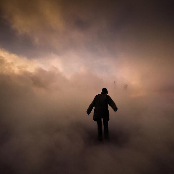by johann Smari #smoke #silhouette #dream
