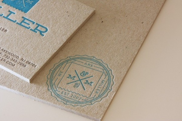 Reuben Miller business card #business #card #letterpress #texture #identity #logo #typography