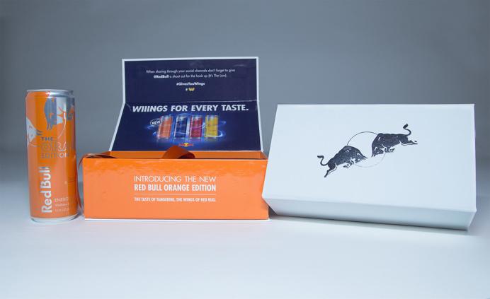 Red Bull Orange Edition Influencer Kits 1