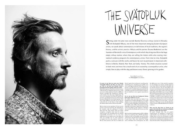 The Room 16 – Exclusive preview #spread #print #magazine