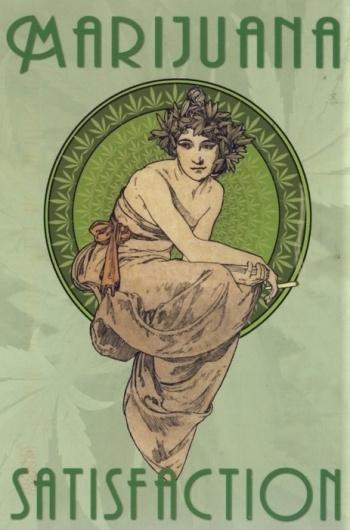 coqueterías - bohemea: Marijuana Satisfaction (by bohemea) #poster