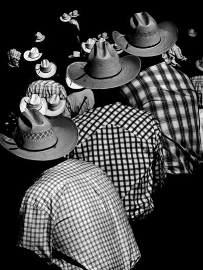 eric rose photographs #hats #analog #blackwhite