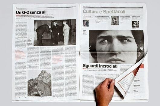 CCRZ - elenco dei progetti #print #design #newspaper #editorial
