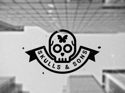 S&S logo by Sebastiano Guerriero #inspiration #design #tpe #logo #skull