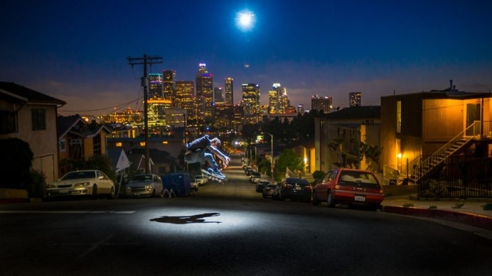 Aerial Lighting in Transient Eclipse Project by Jeffrey Moustache