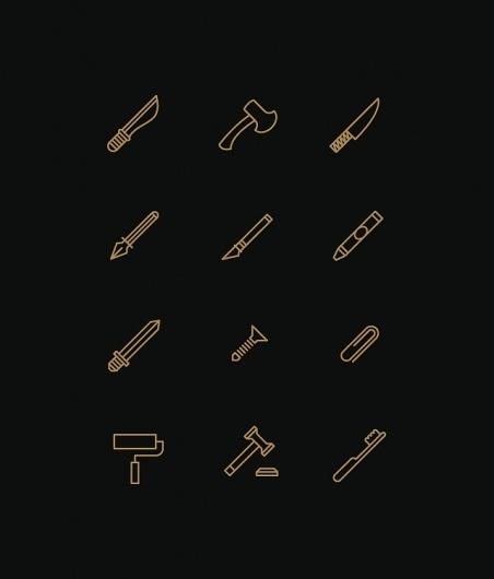 Tim Boelaars #stools #icons