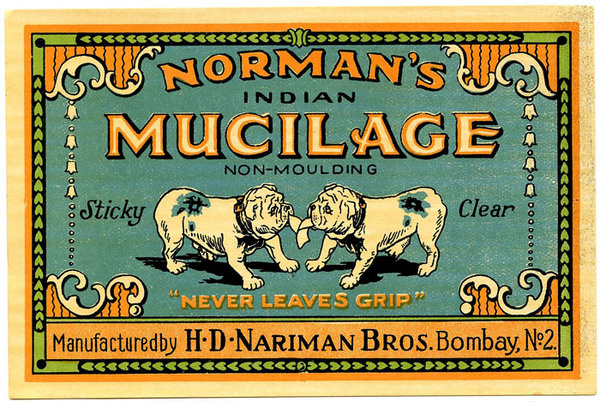 Design. Thoughts. Life.: Collection of authentic vintage labels for your inspiration #illustration #dogs #typography