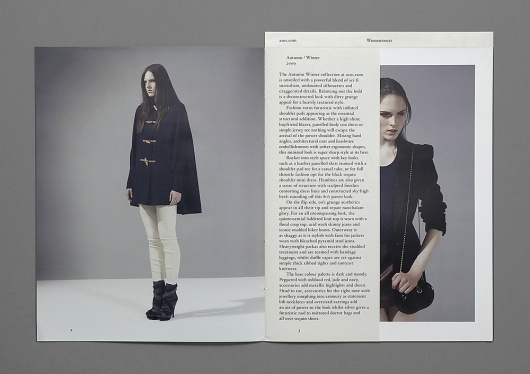 SI Special: Hannes Gloor & Stefan Jandl | September Industry / Bench.li #fashion #design #graphic #editorial