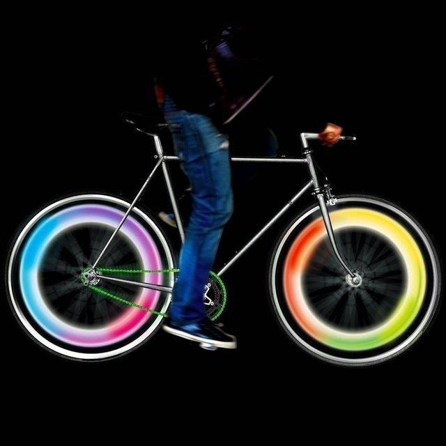 Mathmos Bike Wheel Lights #tech #flow #gadget #gift #ideas #cool