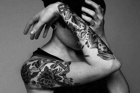 FFFound it: Tattoos | Exhibition Display Stands #tattoos