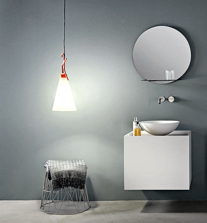 Compact Size Bathroom Cabinet by Marco Taietta bathroom cabinet makro #bathroom #bathroom design #bathroom furniture