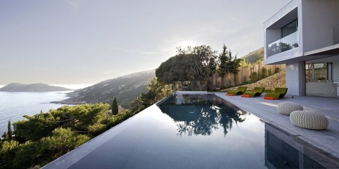 Villa L'escalet in Ramatuelle – with a panoramic view to the sea