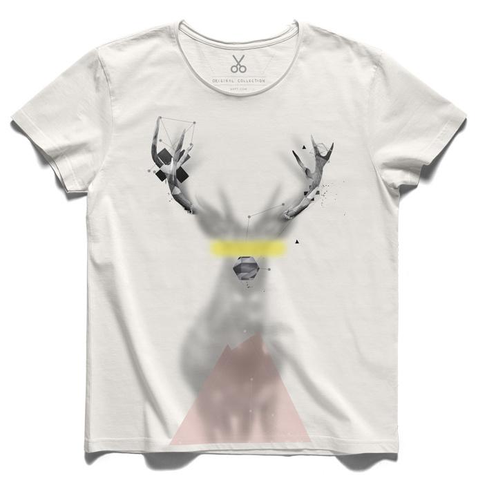 #emphaty #offwhite #tee #tshirt #jung #cosmos #deer #emreturhal #polygon