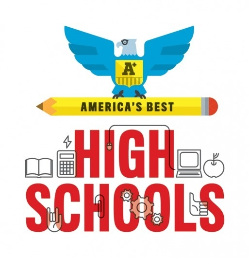 Dribbble - AmericasBest-Newsweek.png by Ed Nacional #icon #school #schooling #illustration #eagle #ed #america #nacional #pencil #high
