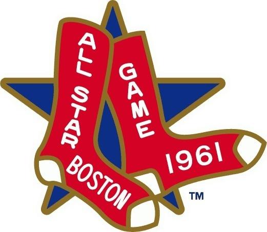 MLB All-Star Game Logo - Chris Creamer's Sports Logos Page - SportsLogos.Net #mlb #red #boston #1961 #all #massachusetts #sox #star #baseball