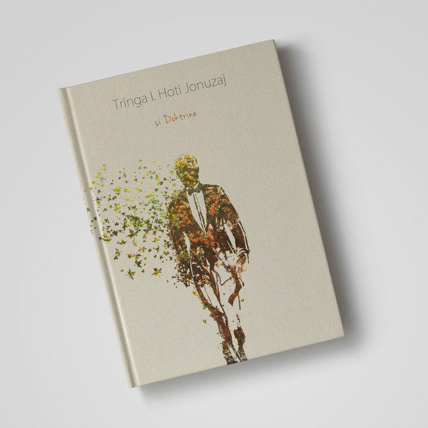 Book Cover Design by Yellow Diamons :: behance #print #design #graphic #book #cover #illustration #leaves