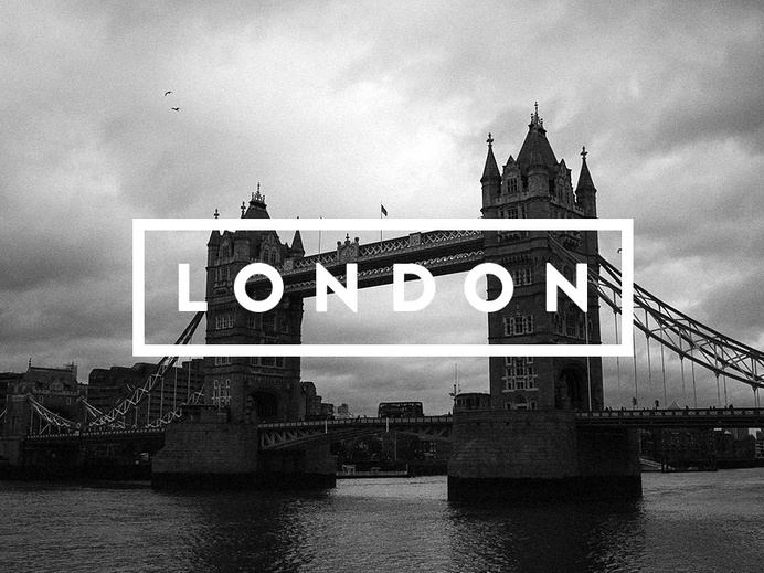 London by Stefan Hornof #logo design #identity #brand