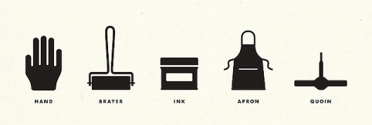 Letterpress Illustrations | Flickr - Photo Sharing! #icons #pictograms