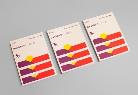 Gandules'11   Hey #modular #print #shapes #geometric #holiday #sunset #minimalist #modernist