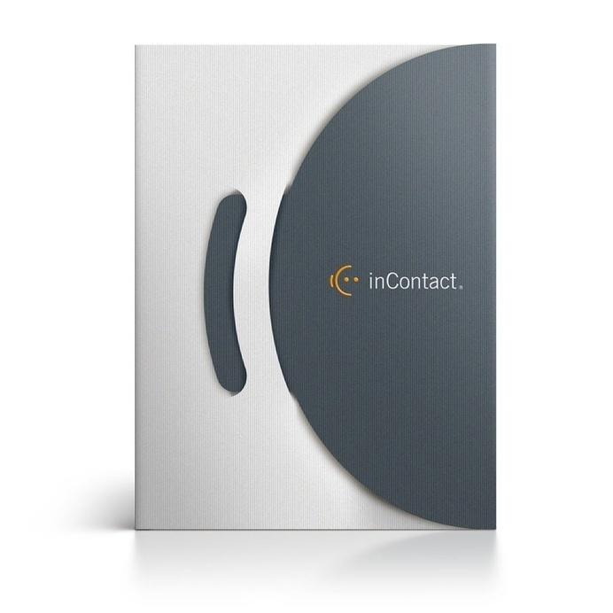 inContact Identity & Pocket Folder by modern8 #folder