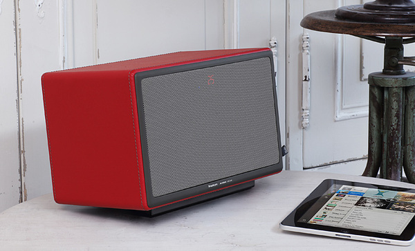 Allroom Air One | Audio Pro #interior #sweden #apple #speaker #airplay #wireless #loudspeaker #ipad #air #design #allroom #one #audio #pro #decoration